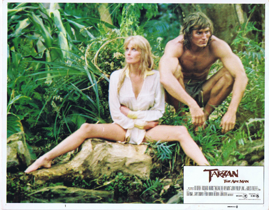 TARZAN THE APE MAN Lobby Card 1 1981 Bo Derek
