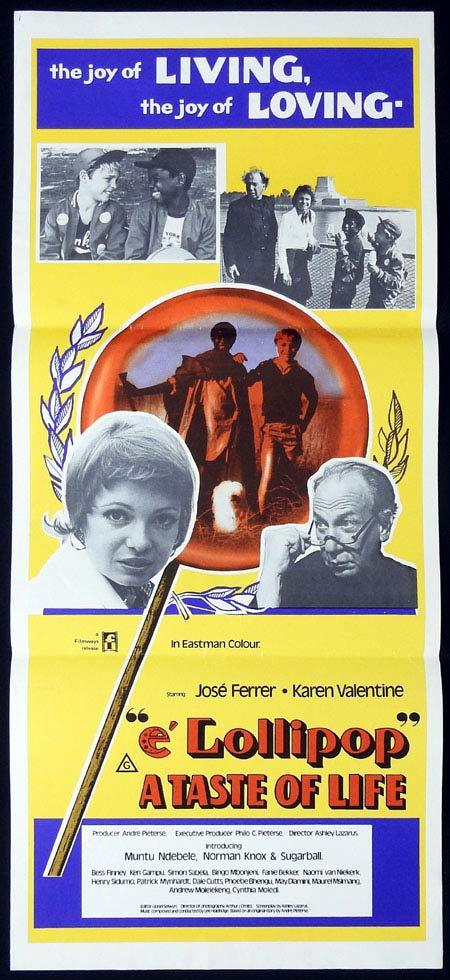 A TASTE OF LIFE Original Daybill Movie Poster Ferrer Karen Valentine