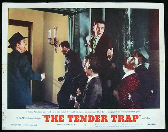 TENDER TRAP, THE '56 Frank Sinatra Lobby Card #5