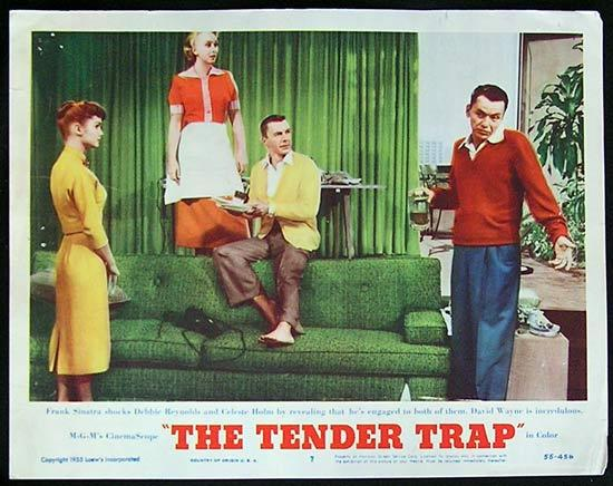 TENDER TRAP, THE '56 Frank Sinatra Lobby Card #7