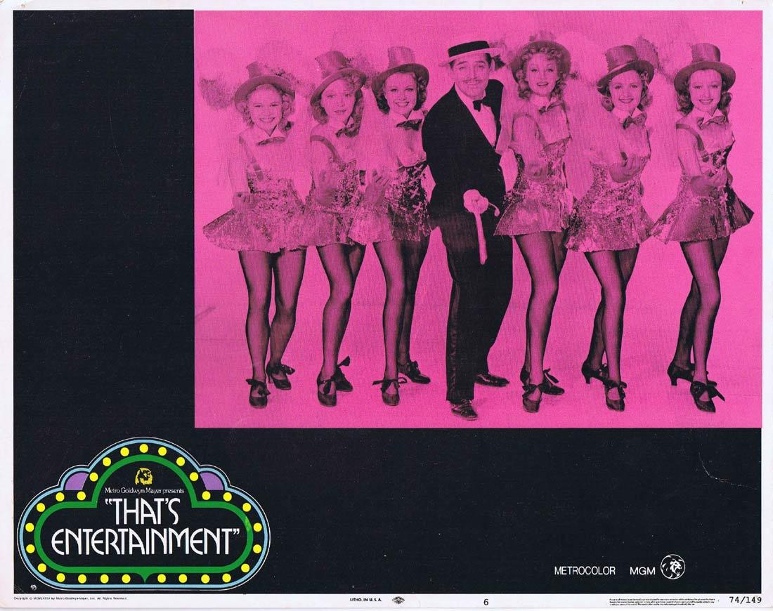THAT'S ENTERTAINMENT Original Lobby Card 6 Clark Gable