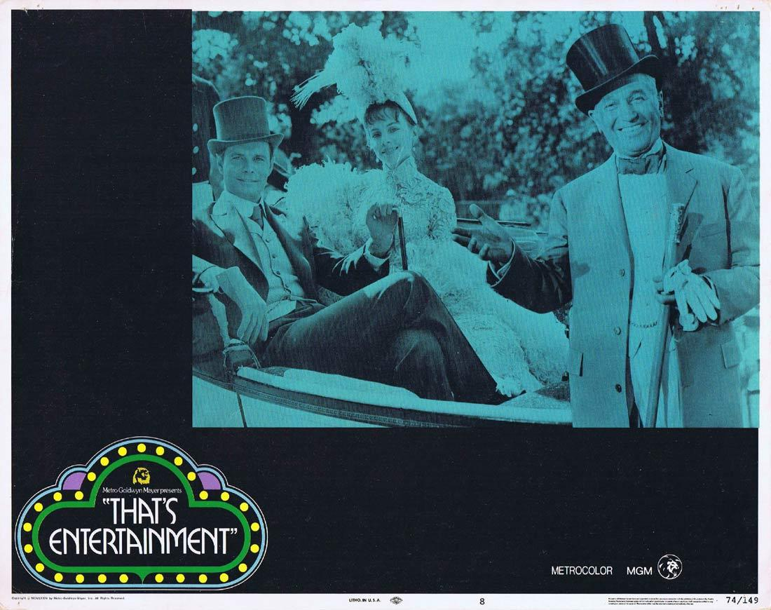 THAT'S ENTERTAINMENT Original Lobby Card 8 Maurice Chevalier