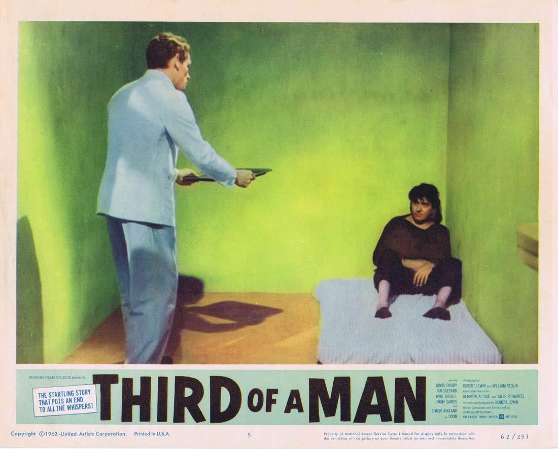THIRD OF A MAN Lobby Card 5 James Drury Simon Oakland