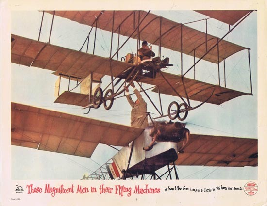 THOSE MAGNIFICENT MEN IN THEIR FLYING MACHINES Lobby Card 5