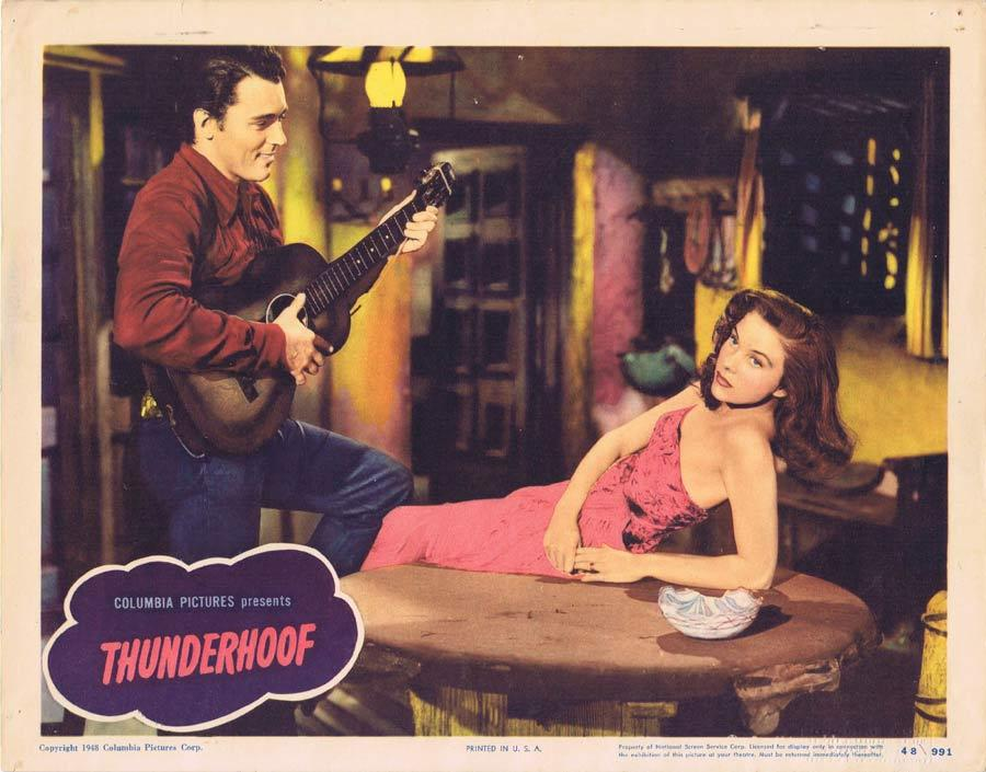 THUNDERHOOF Lobby Card 2 Preston Foster Mary Stuart