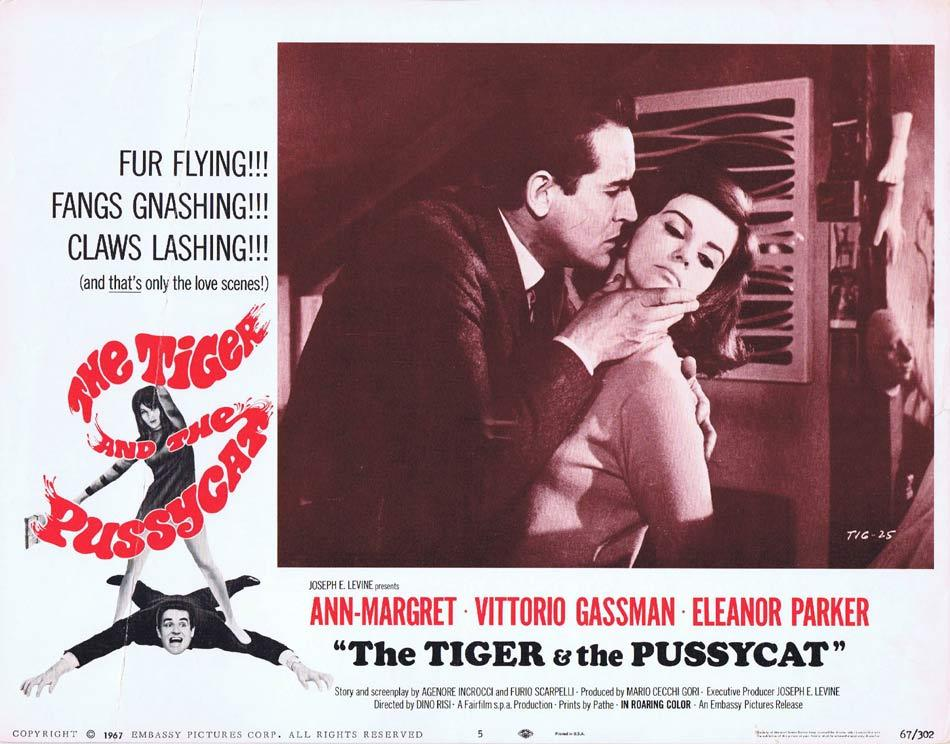 THE TIGER AND THE PUSSYCAT Lobby Card 5 Ann-Margret Vittorio Gassman