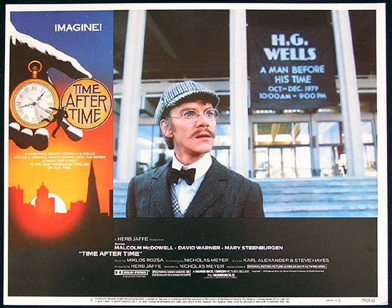 TIME AFTER TIME 1979 Malcolm McDowell Lobby Card 8