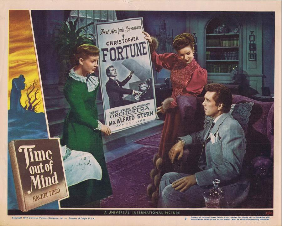 TIME OUT OF MIND Lobby Card Robert Siodmak