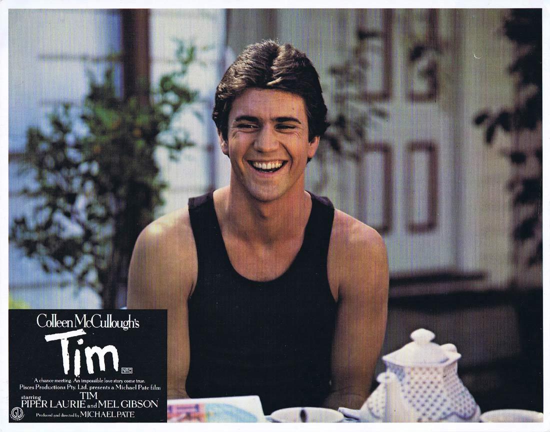 TIM Original Lobby Card 2 Piper Laurie Mel Gibson Alwyn Kurts