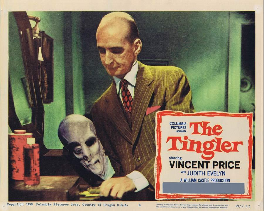 THE TINGLER Lobby Card 6 Vincent Price William Castle