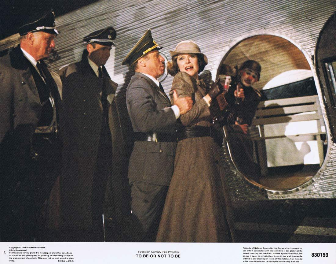 TO BE OR NOT TO BE Original Lobby Card 3 Mel Brooks Anne Bancroft