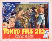 TOKYO FILE 212 1951 RKO Film Noir RARE Lobby Card 8
