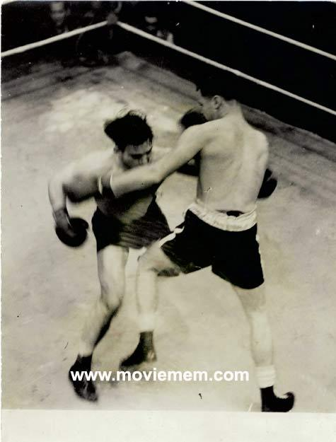 TOMMY BURNS c.1940s Rare BOXING Still BW photo 100