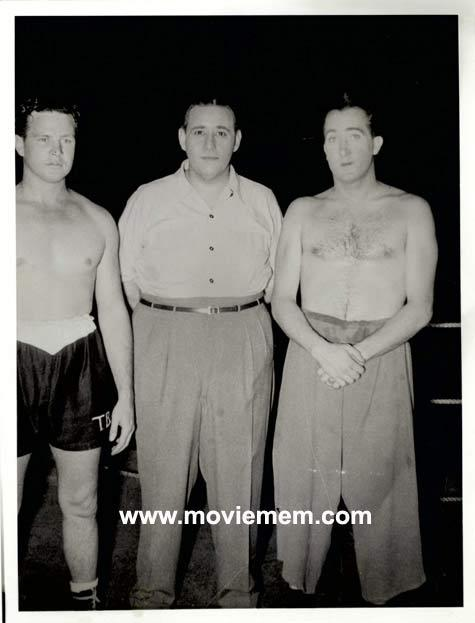 TOMMY BURNS c.1940s Rare BOXING Still BW photo 113