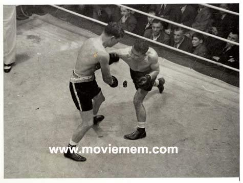 TOMMY BURNS c.1940s Rare BOXING Still BW photo 121