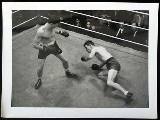 TOMMY BURNS c.1940s Rare BOXING Still BW photo 16