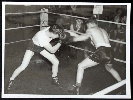 TOMMY BURNS c.1940s Rare BOXING Still BW photo 18