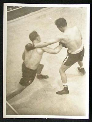 TOMMY BURNS c.1940s Rare BOXING Still BW photo 24