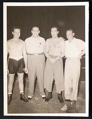 TOMMY BURNS c.1940s Rare BOXING Still BW photo 27