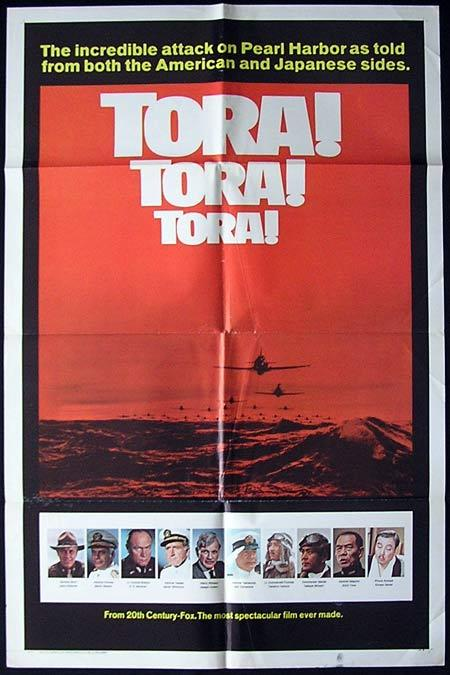 TORA TORA TORA Original One sheet Movie poster Martin Balsam So Yamamura