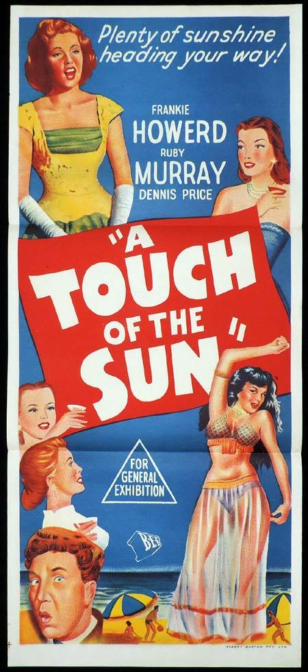 A TOUCH OF THE SUN Daybill Movie poster Frankie Howerd British Comedy