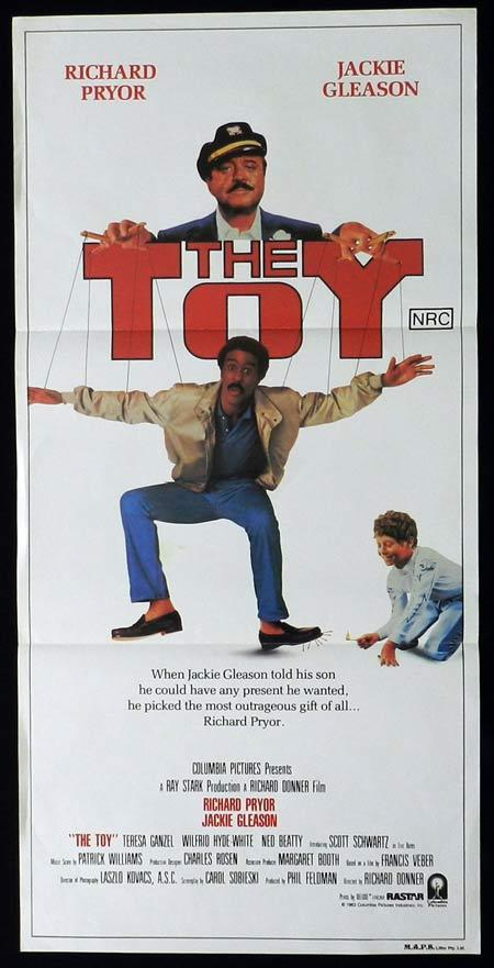 THE TOY Original Daybill Movie Poster Richard Pryor Jackie Gleason