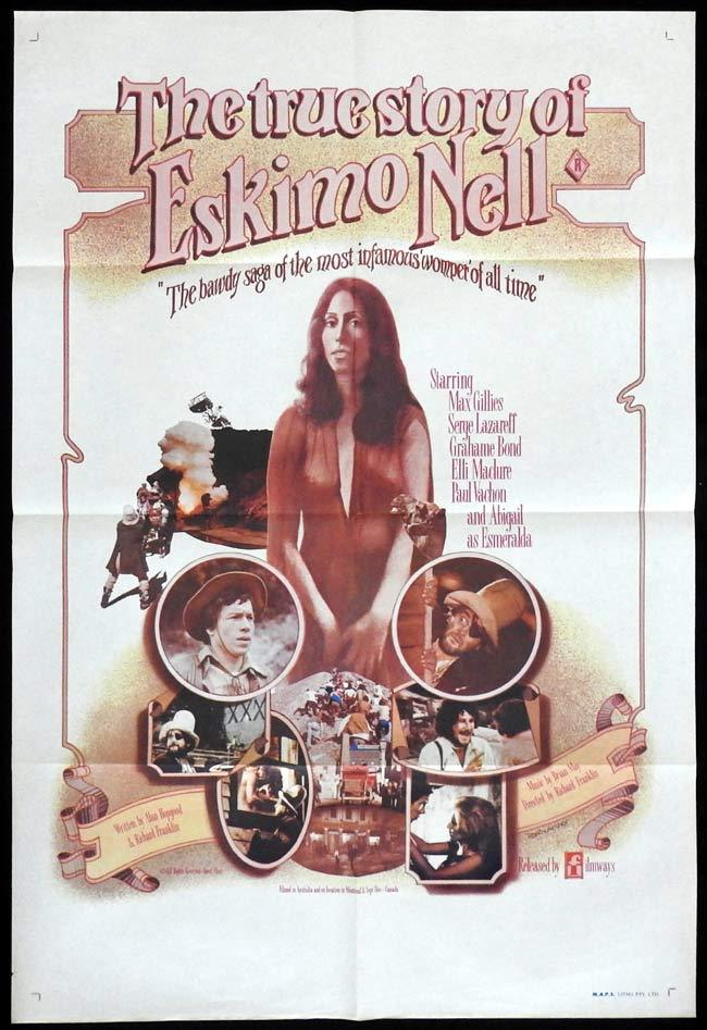 THE TRUE STORY OF ESKIMO NELL One sheet Movie poster Richard Franklin