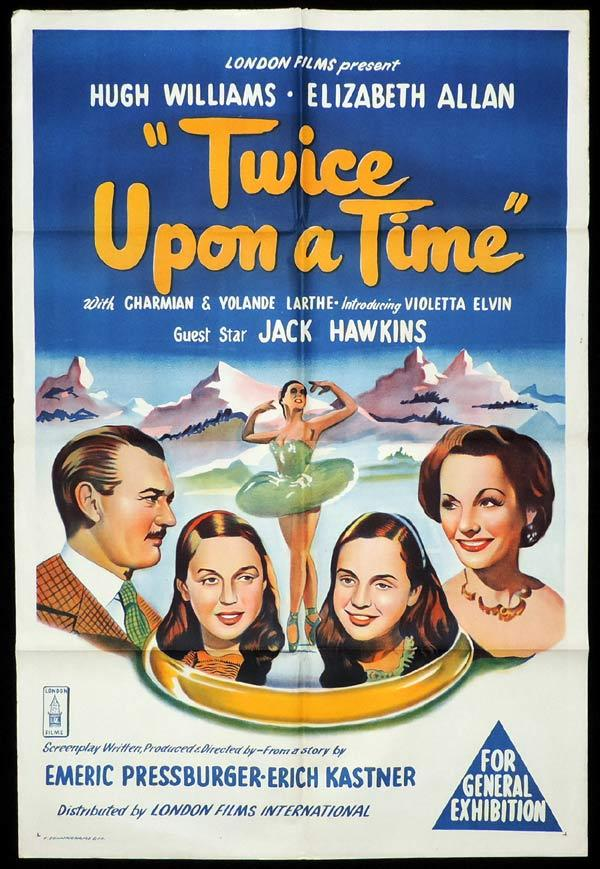 TWICE UPON A TIME One Sheet Movie Poster Emeric Pressburger Ballet