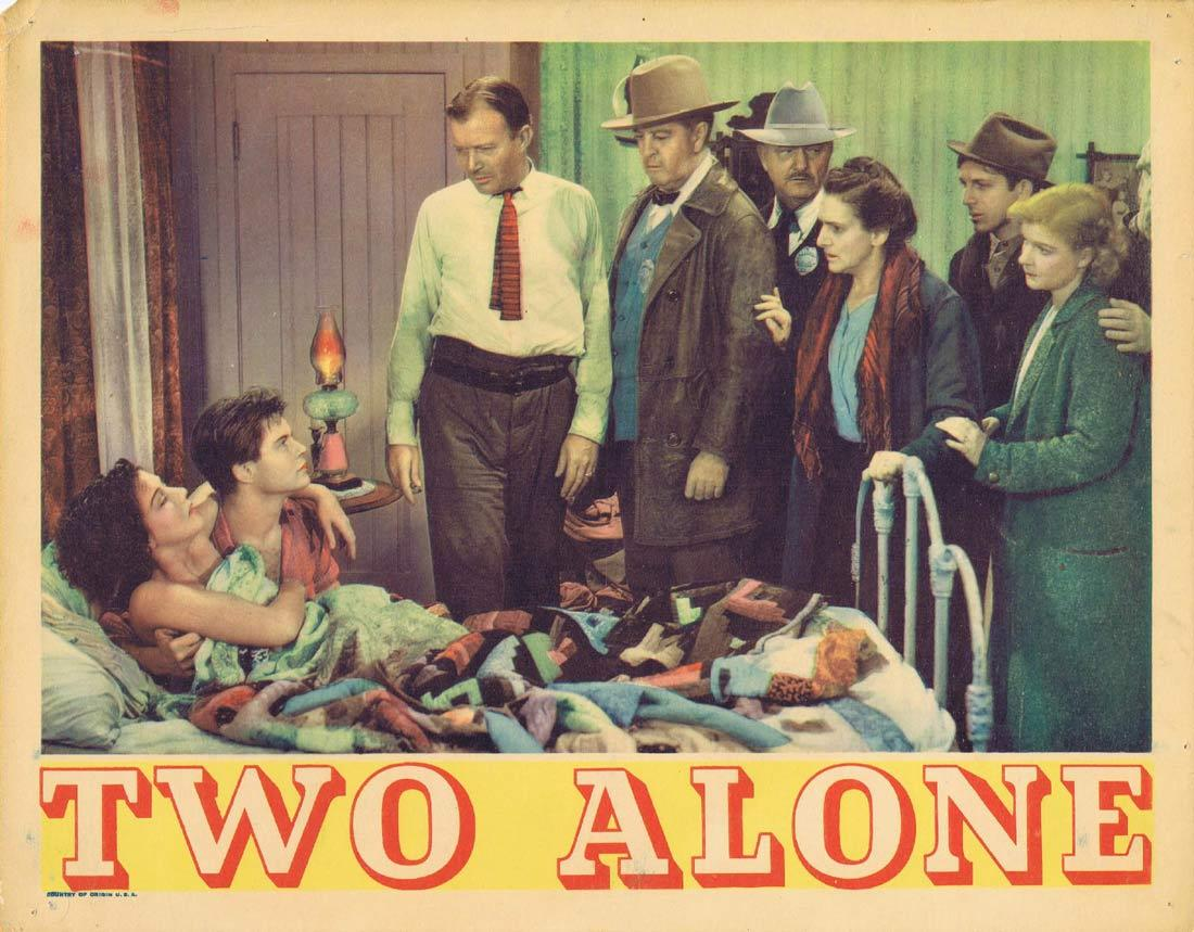 TWO ALONE Lobby Card Tom Brown Zasu Pitts Jean Parker