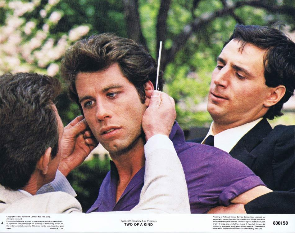 TWO OF A KIND Original Lobby Card 4 John Travolta Olivia Newton-John