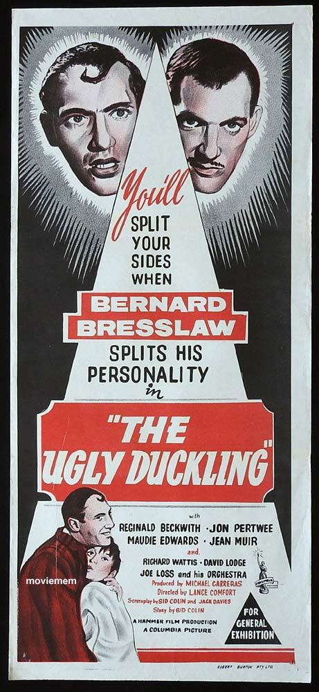 THE UGLY DUCKLING Original Daybill Movie poster Bernard Bresslaw Jon Pertwee