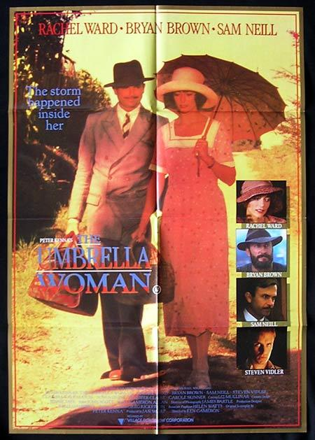 THE UMBRELLA WOMAN aka Peter McKenna's THE GOOD WIFE 1987 One sheet Movie poster