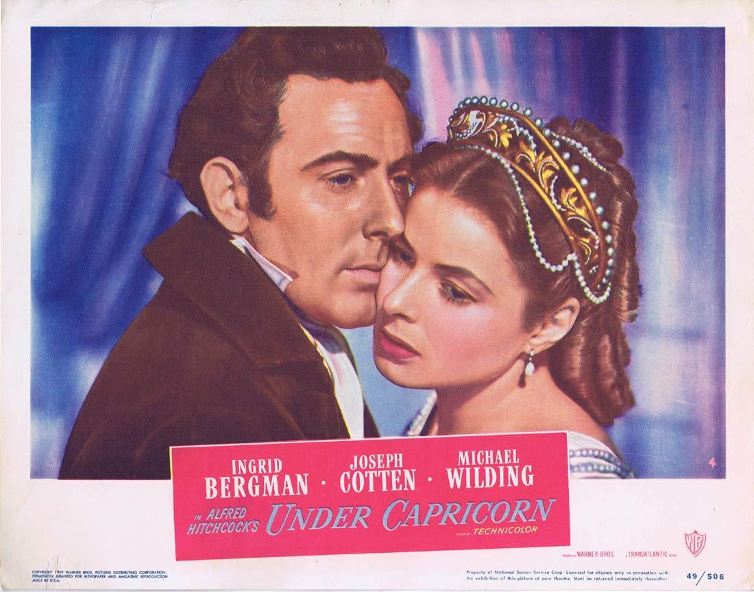 UNDER CAPRICORN Lobby card 4 Alfred Hitchcock Ingrid Bergman