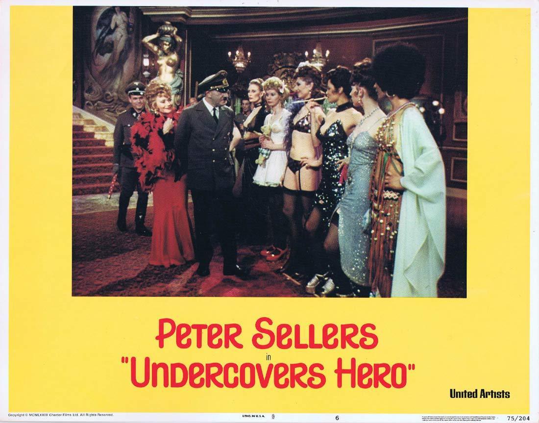 UNDERCOVERS HERO Lobby Card 6 Peter Sellers Lila Kedrova