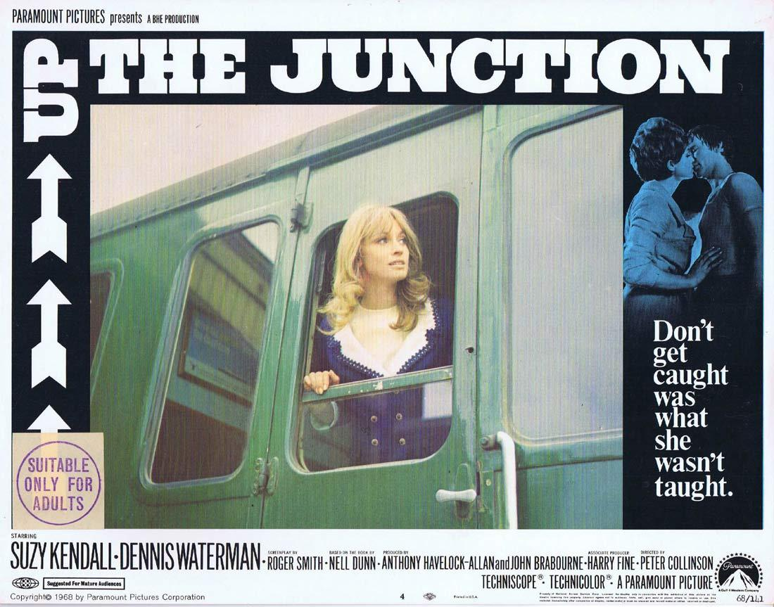 UP THE JUNCTION Original Lobby Card 4 Suzy Kendall Dennis Waterman