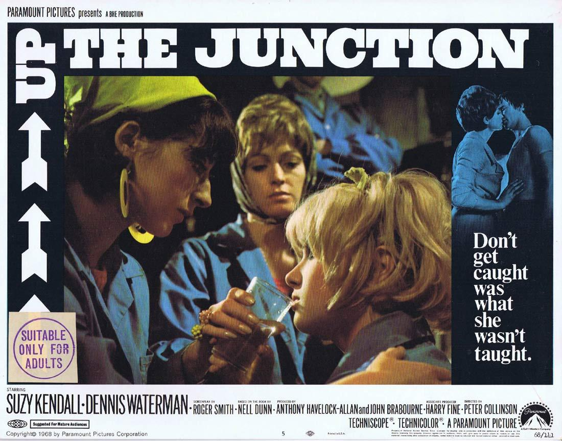 UP THE JUNCTION Original Lobby Card 5 Suzy Kendall Dennis Waterman