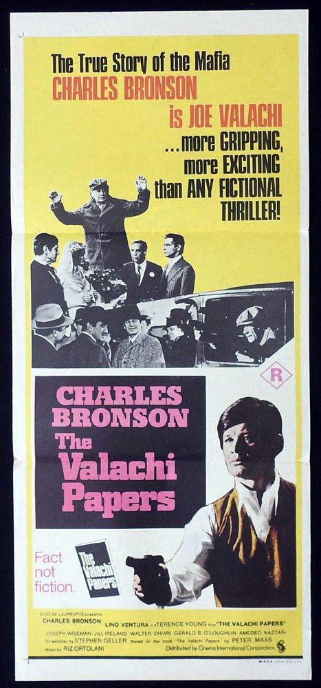 THE VALACHI PAPERS Original Daybill Movie Poster Charles Bronson Lino Ventura