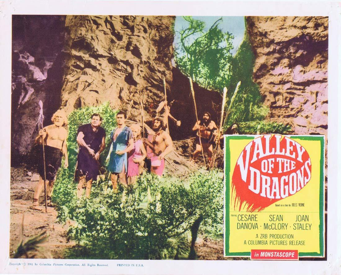 VALLEY OF THE DRAGONS Lobby Card 2 Cesare Danova Sean McClory