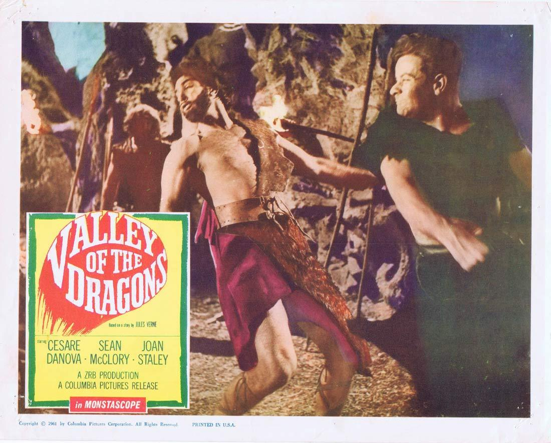 VALLEY OF THE DRAGONS Lobby Card 3 Cesare Danova Sean McClory