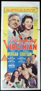THE VANISHING VIRGINIAN Original Daybill Movie Poster Kathryn Grayson Frank Morgan Marchant Art