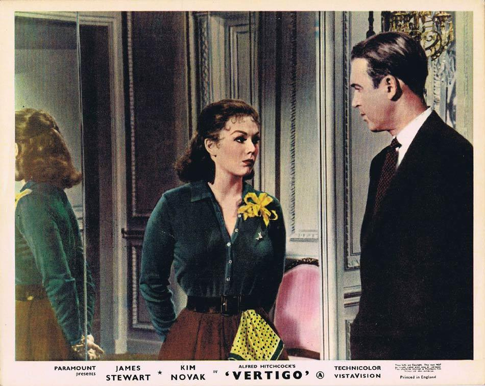 VERTIGO Front of House Movie Still 3 8 x 10 James Stewart Alfred Hitchcock