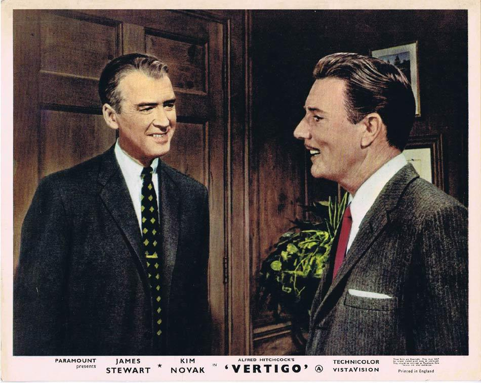 VERTIGO Front of House Movie Still 6 8 x 10 James Stewart Alfred Hitchcock