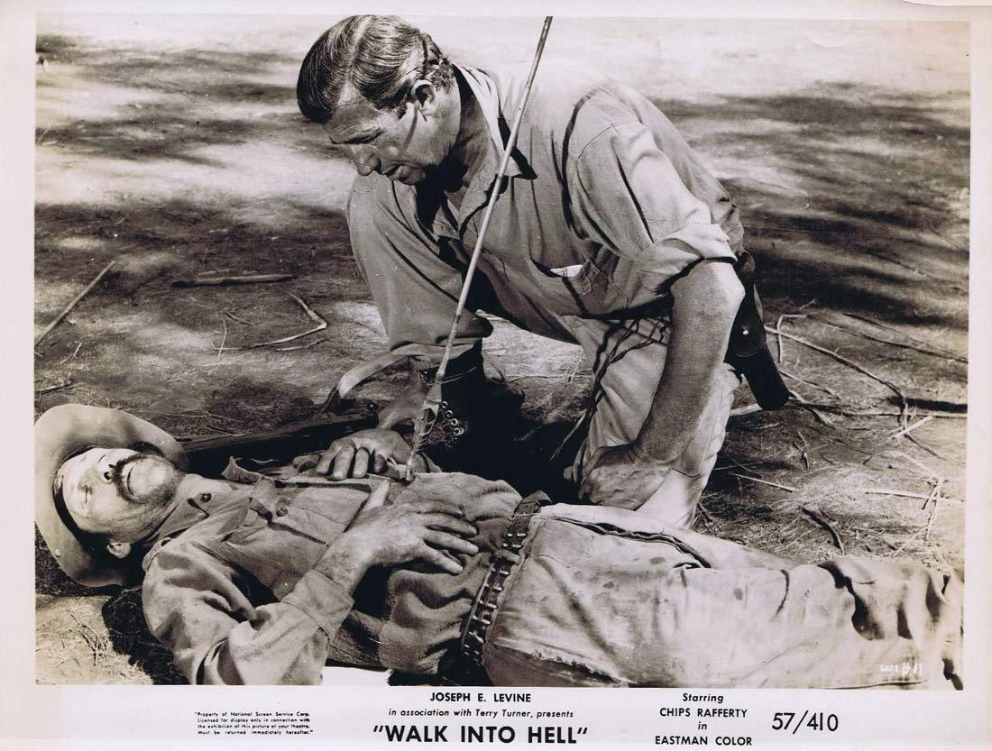 WALK INTO HELL Original Movie Still 24 Chips Rafferty canoe Walk Into Paradise