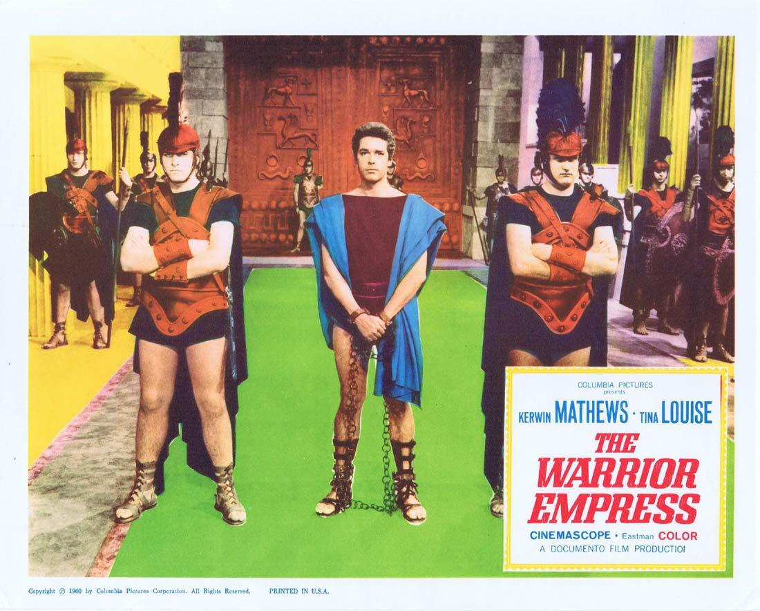 THE WARRIOR EMPRESS Lobby Card 2 Kerwin Mathews Tina Louise