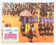 THE WARRIOR EMPRESS Lobby Card 3 Kerwin Mathews Tina Louise