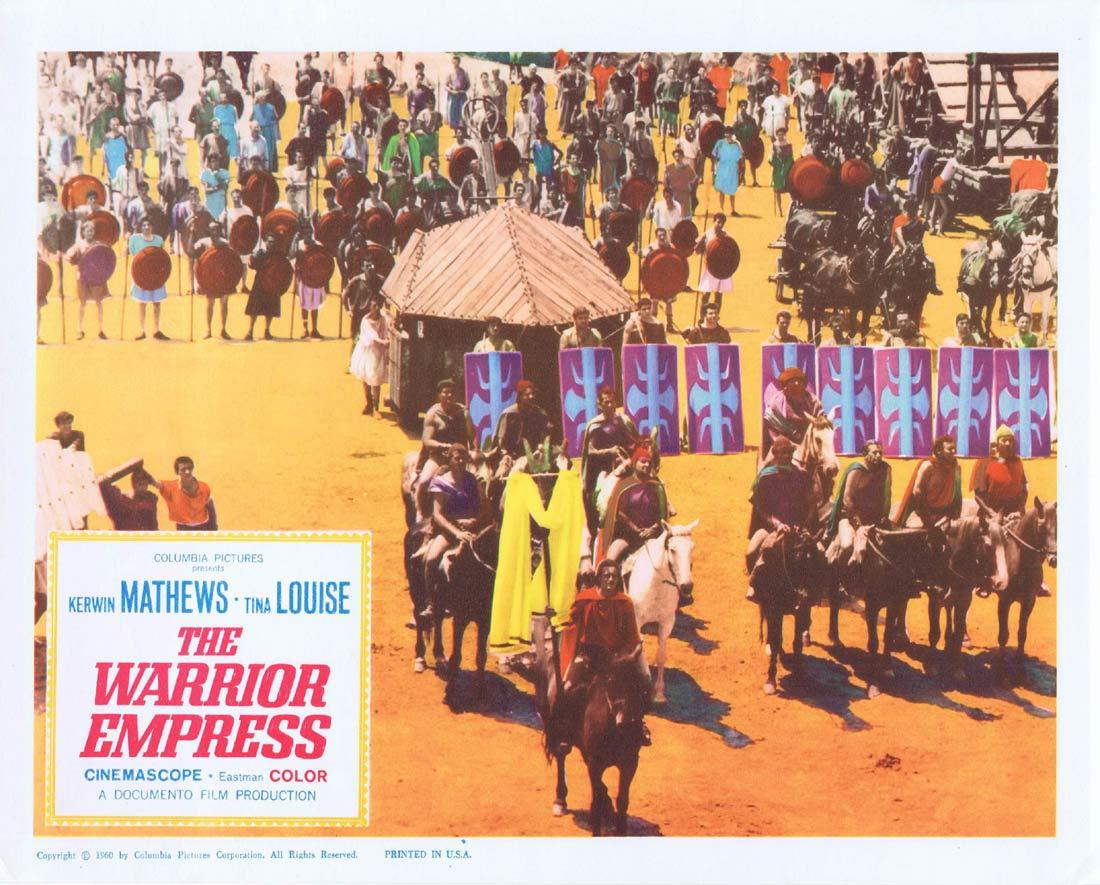 THE WARRIOR EMPRESS Lobby Card 3 Kerwin Mathews Tina Louise