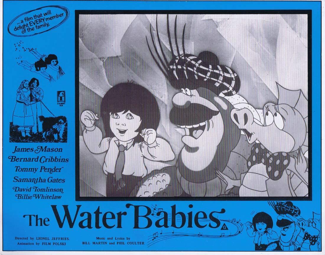 THE WATER BABIES Original Lobby Card 2 James Mason Bernard Cribbins