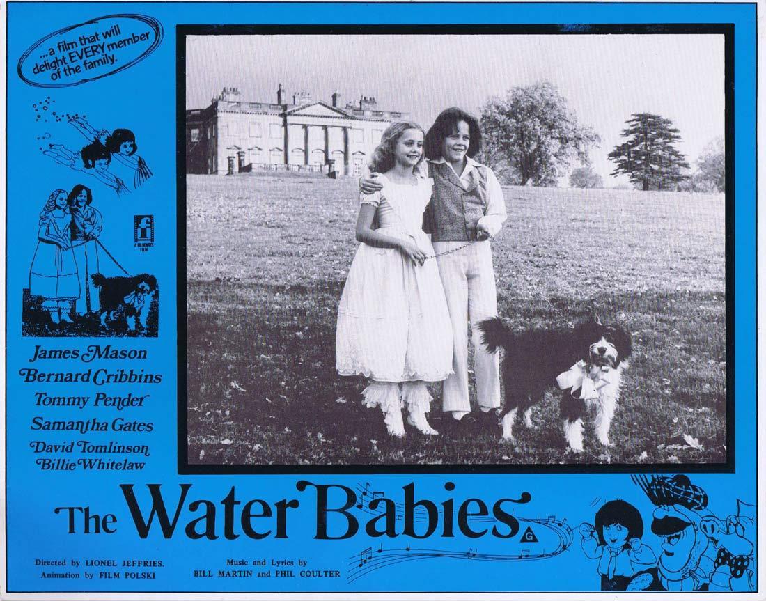 THE WATER BABIES Original Lobby Card 3 James Mason Bernard Cribbins