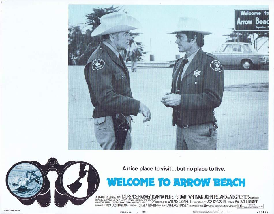 WELCOME TO ARROW BEACH Lobby Card 2 Laurence Harvey Joanna Pettet Meg Foster