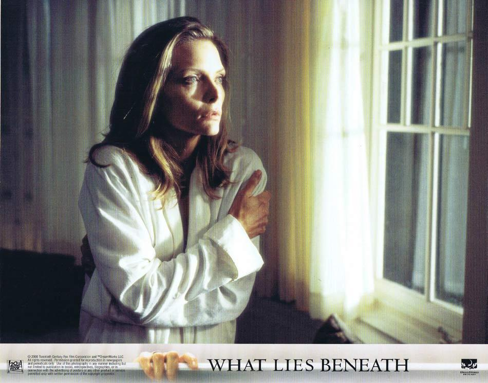 WHAT LIES BENEATH Lobby Card 3 Harrison Ford Michelle Pfeiffer Diana Scarwid